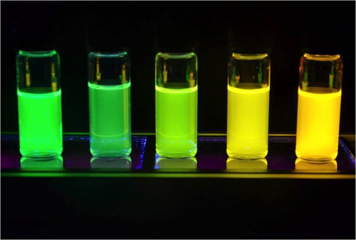 Fotoluminescenza di nanoparticelle di Telluro di Cadmio)