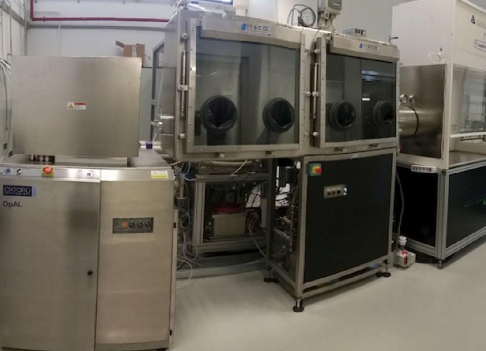 Laboratorio Film Sottili del Centro Ricerche Brindisi